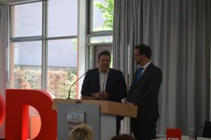 Florian Pronold und Carsten Träger