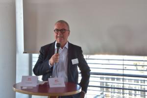 Alexander Jungkunz, Chefredakteur der Nürnberger Nachrichten, bei seinem Impuls