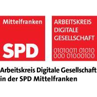 Logo des Arbeitskreises Digitale Gesellschaft der SPD Mittelfranken