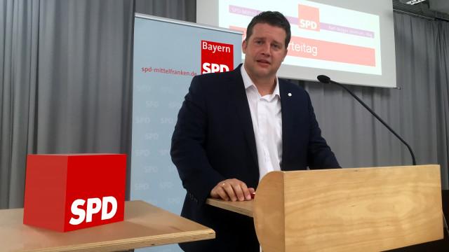 Carsten Träger am Rednerpult
